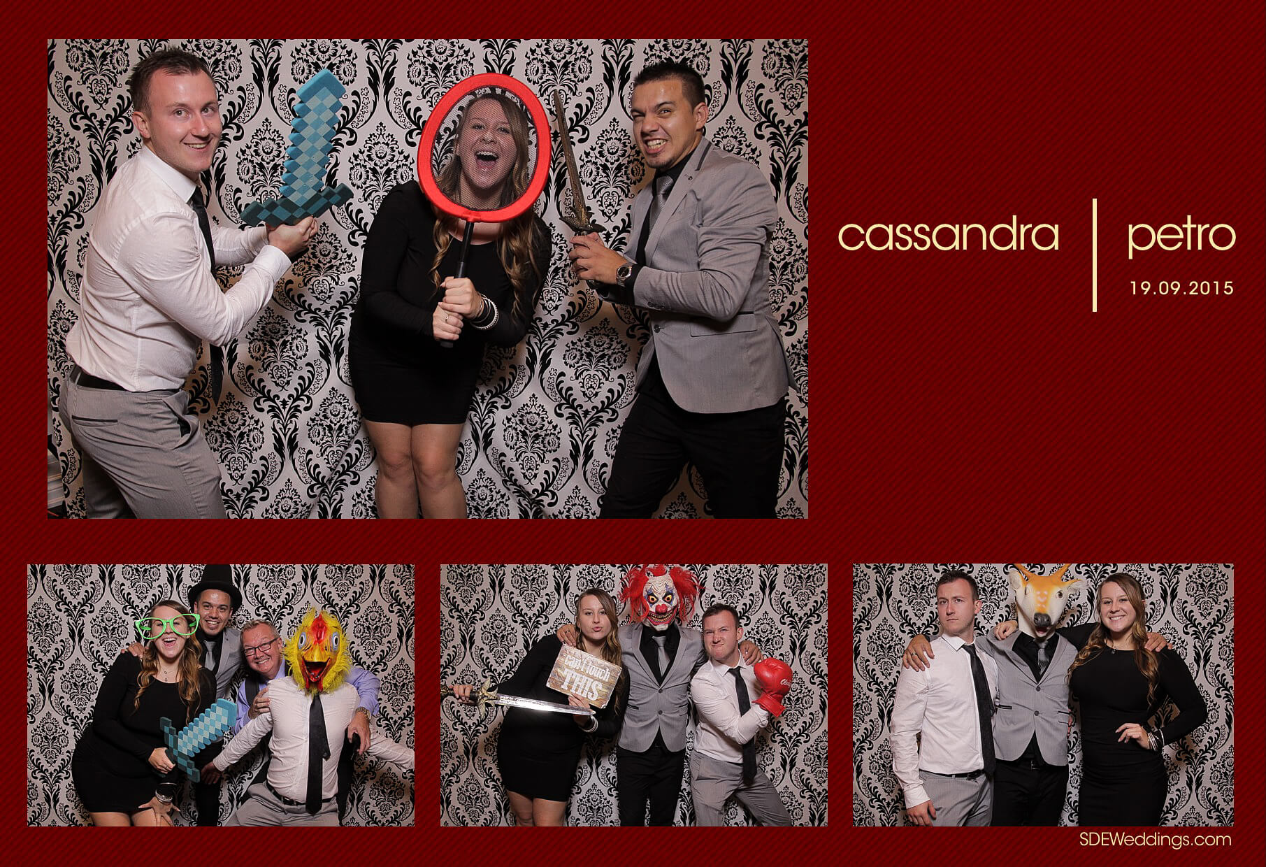 Wedding Photo Booth Rental at the Oakville Conference and Banquet Centre 8