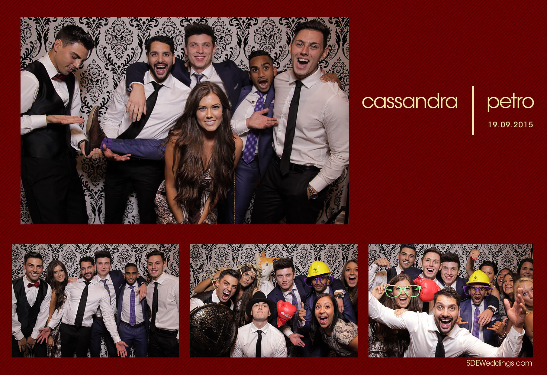 Wedding Photo Booth Rental at the Oakville Conference and Banquet Centre 9