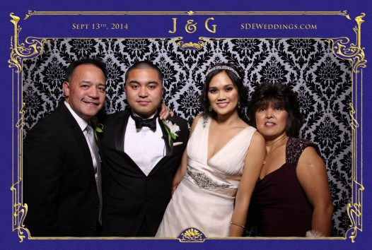 toronto bayview golf country club wedding photobooth photo 3