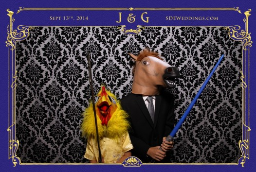 toronto bayview golf country club wedding photobooth photo 4