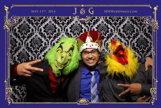 toronto bayview golf country club wedding photobooth photo 7