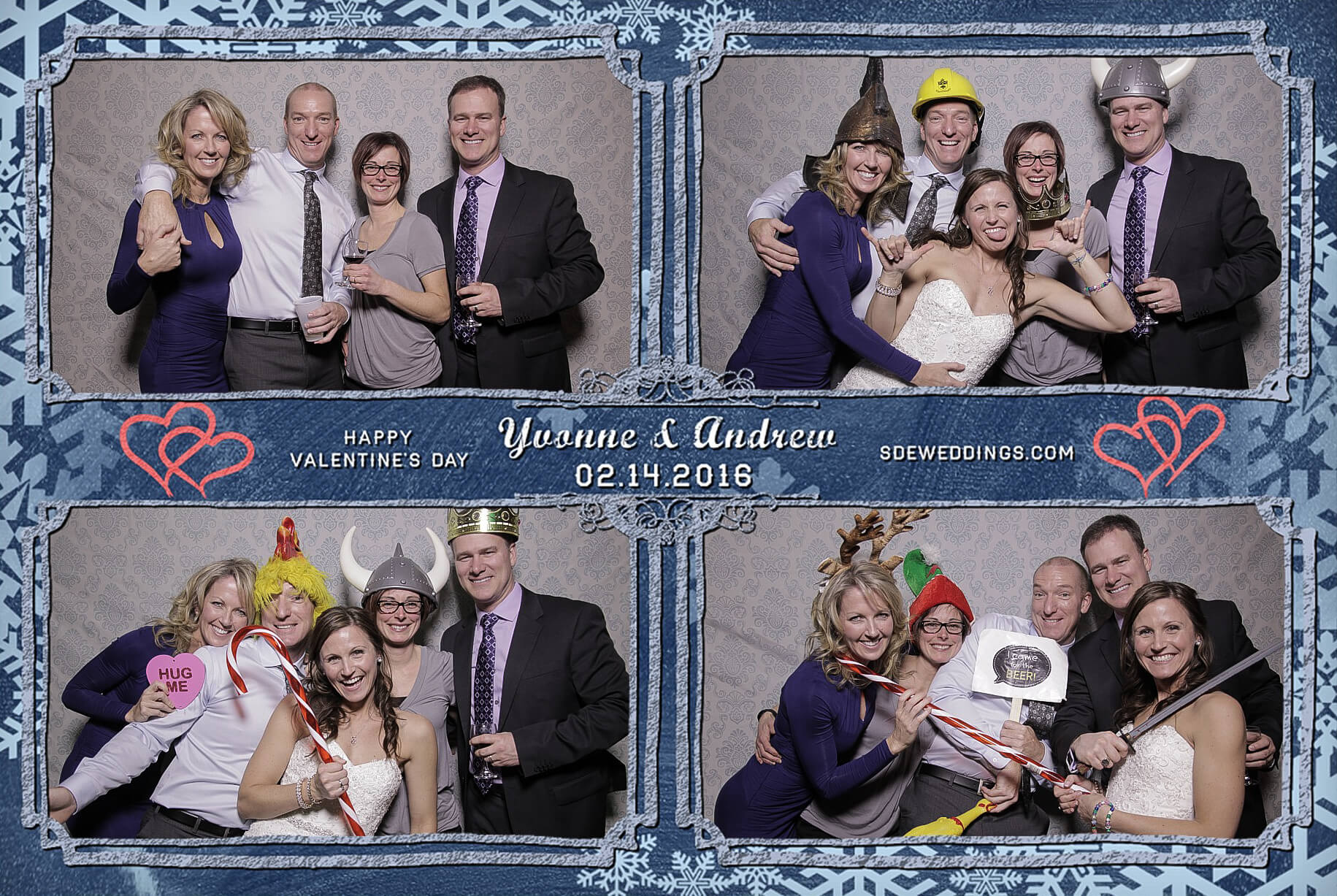 Burlington Geraldo Wedding Photo Booth Rental 1