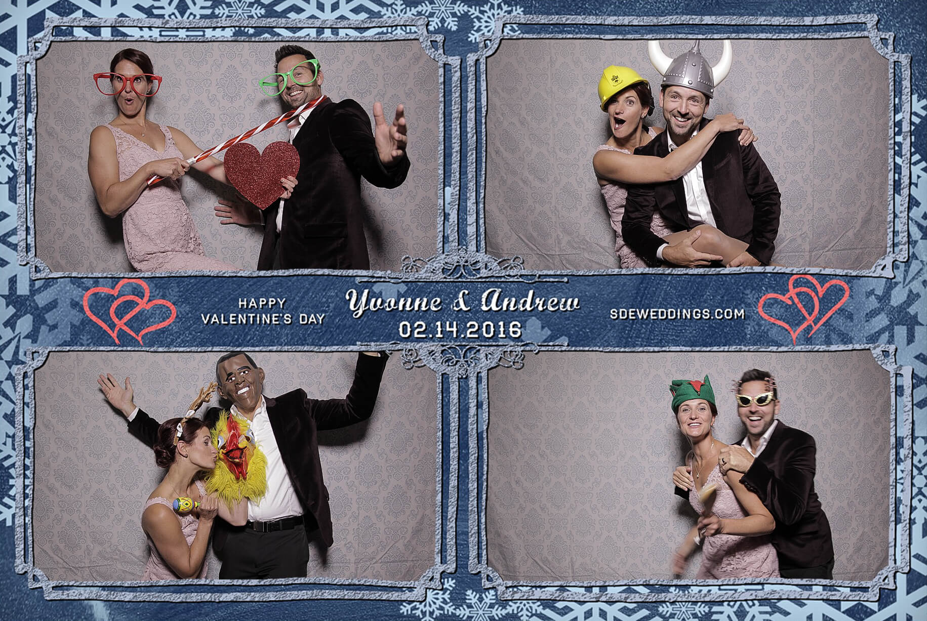 Burlington Geraldo Wedding Photo Booth Rental 2
