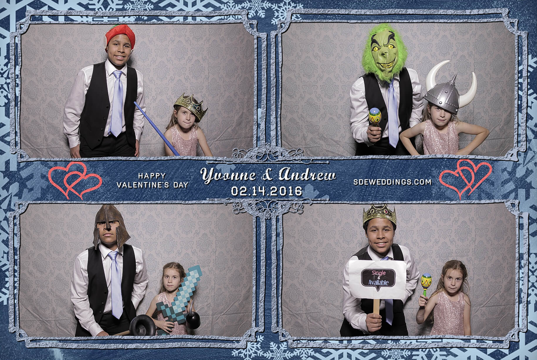 Burlington Geraldo Wedding Photo Booth Rental 3
