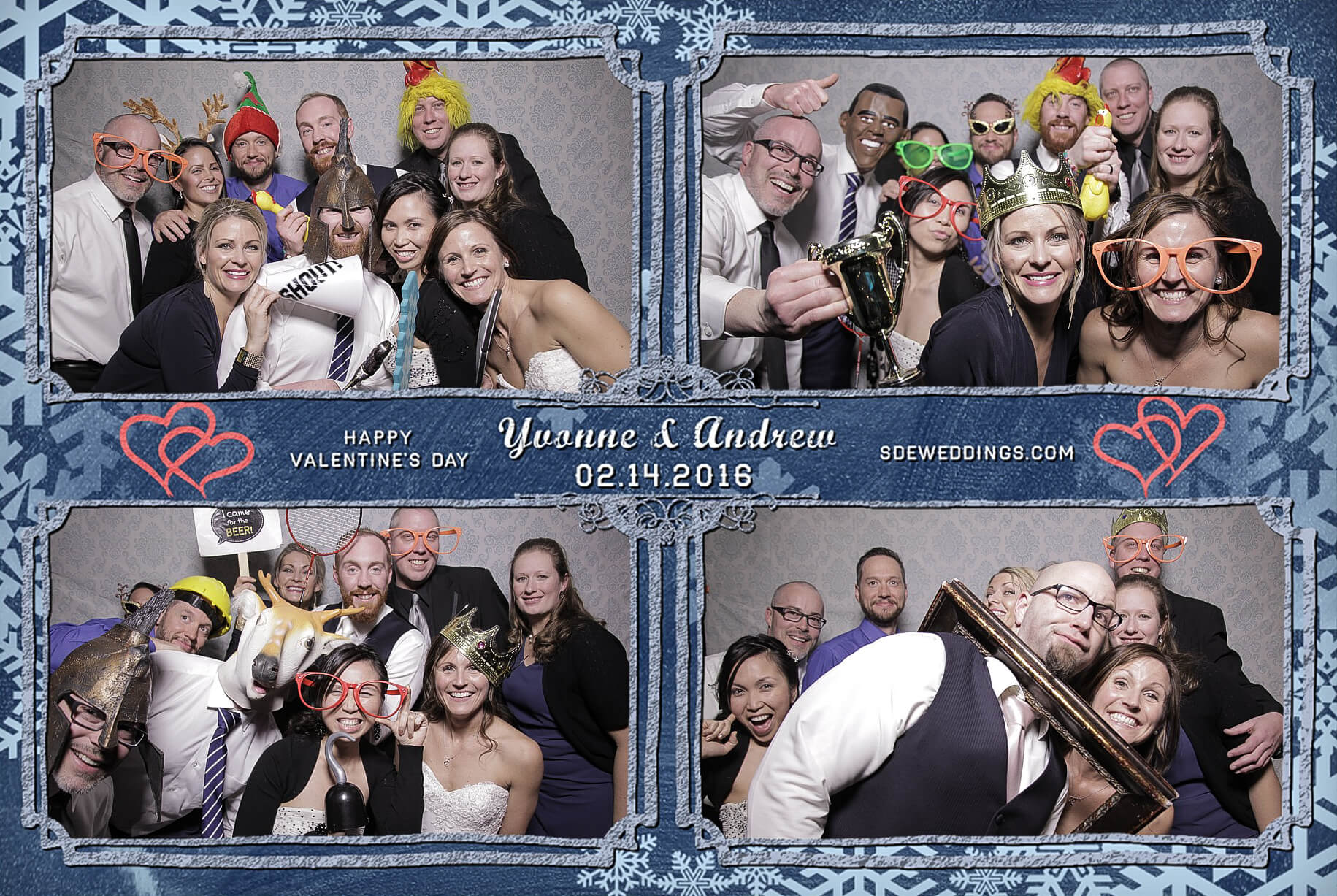Burlington Geraldo Wedding Photo Booth Rental 4