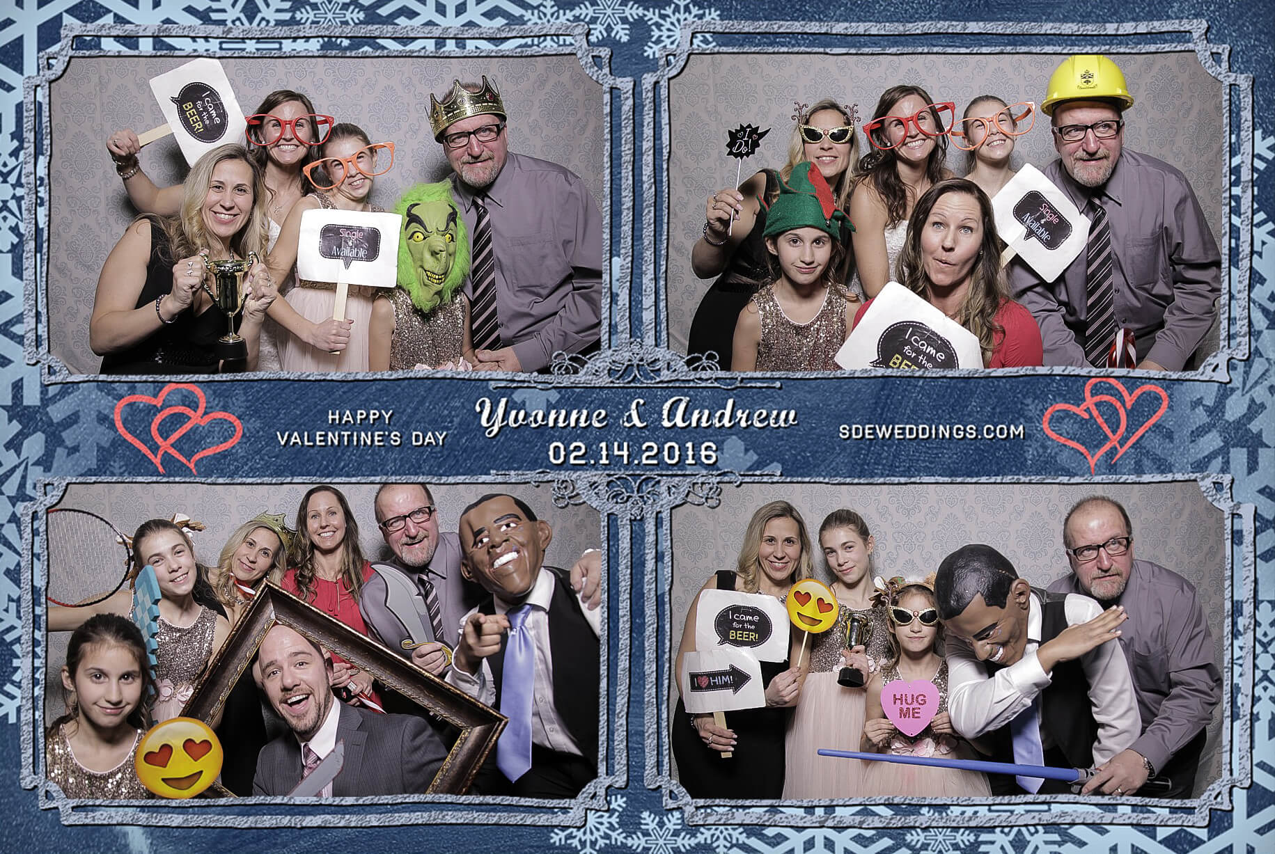 Burlington Geraldo Wedding Photo Booth Rental 6