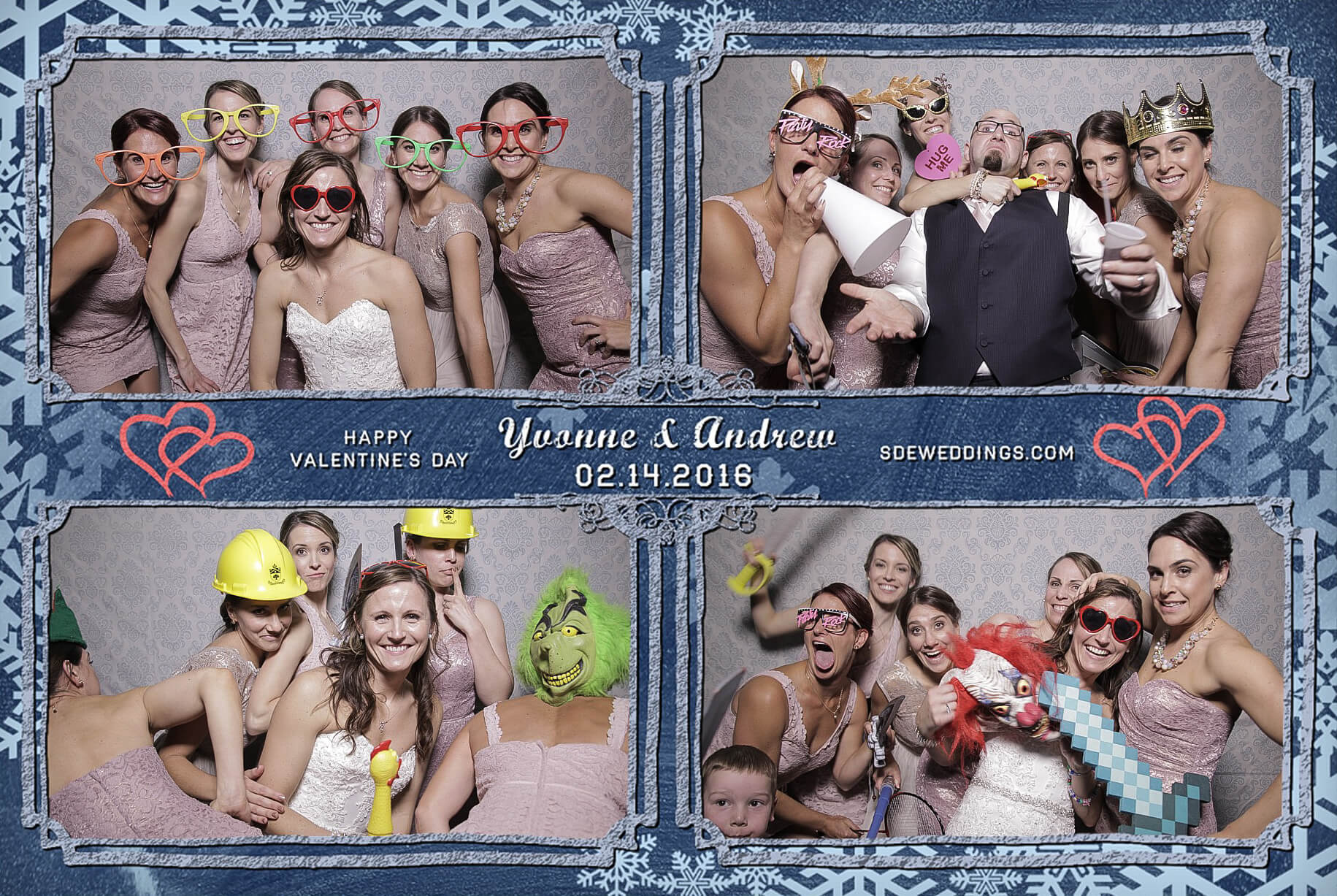 Burlington Geraldo Wedding Photo Booth Rental 7