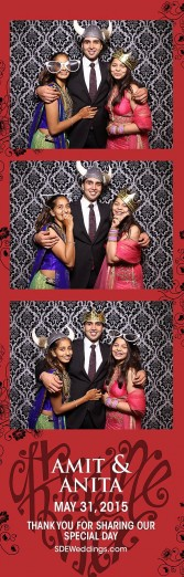 toronto hindu wedding photo booth rental 1