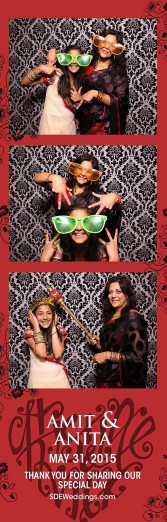 toronto hindu wedding photo booth rental 2