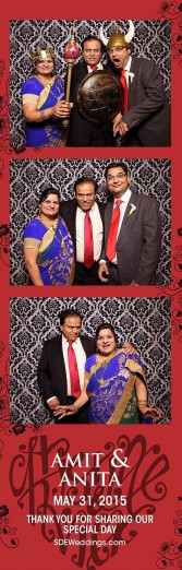 toronto hindu wedding photo booth rental 3