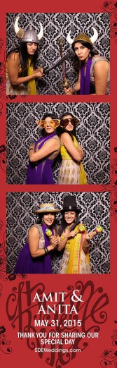 toronto hindu wedding photo booth rental 4