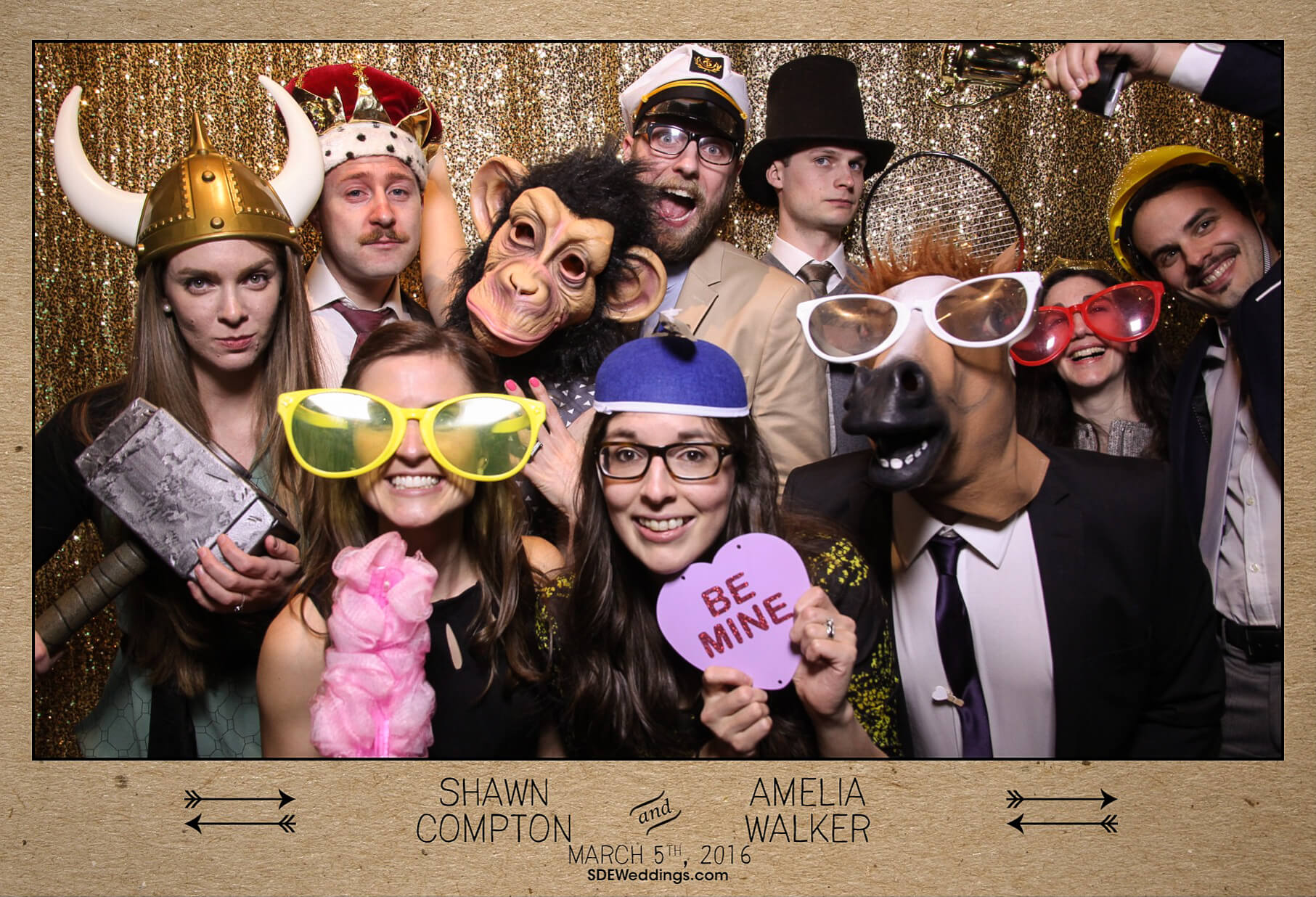 Toronto Propeller Coffee Wedding Photo Booth Rental 4