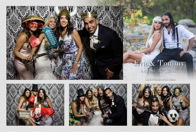 Toronto Summer Greek Wedding at Mississauga Grand Banquet Hall Photo Booth Rental 1