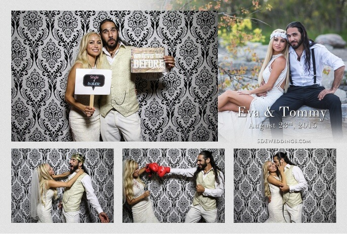 Toronto Summer Greek Wedding at Mississauga Grand Banquet Hall Photo Booth Rental 2