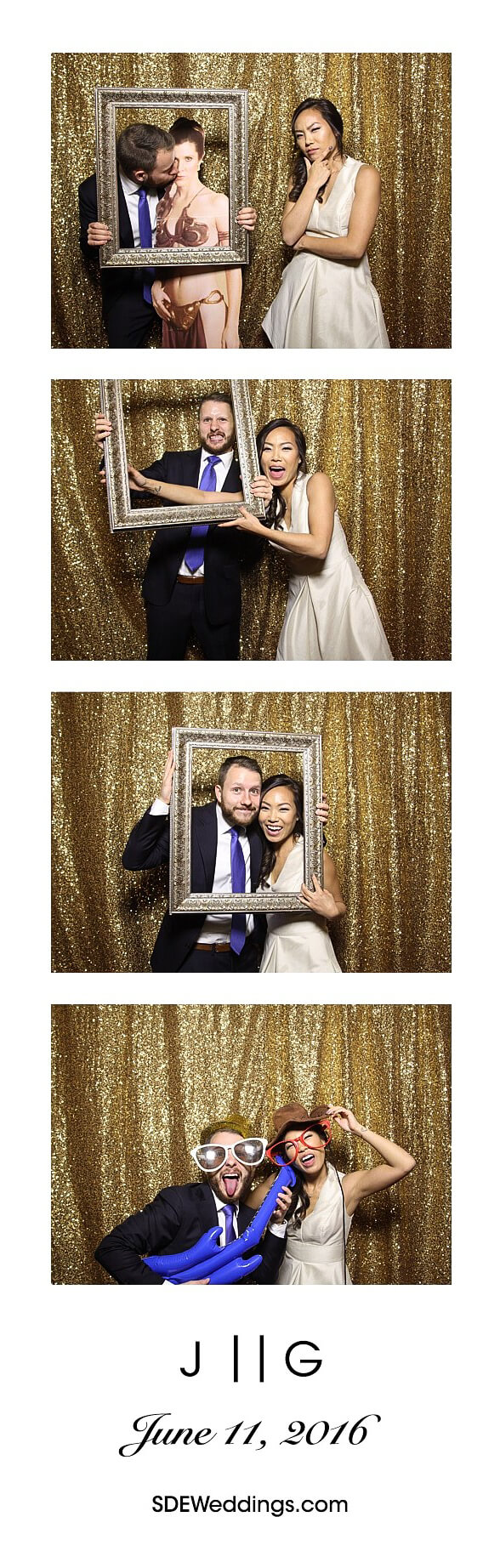 Toronto Four Seasons Hotel Wedding Photo Booth Rental 1