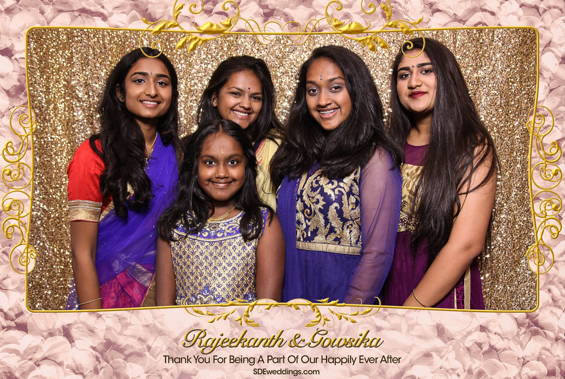 Toronto Tamil Wedding Photo Booth Rental at Chandni Banquet Hall 1