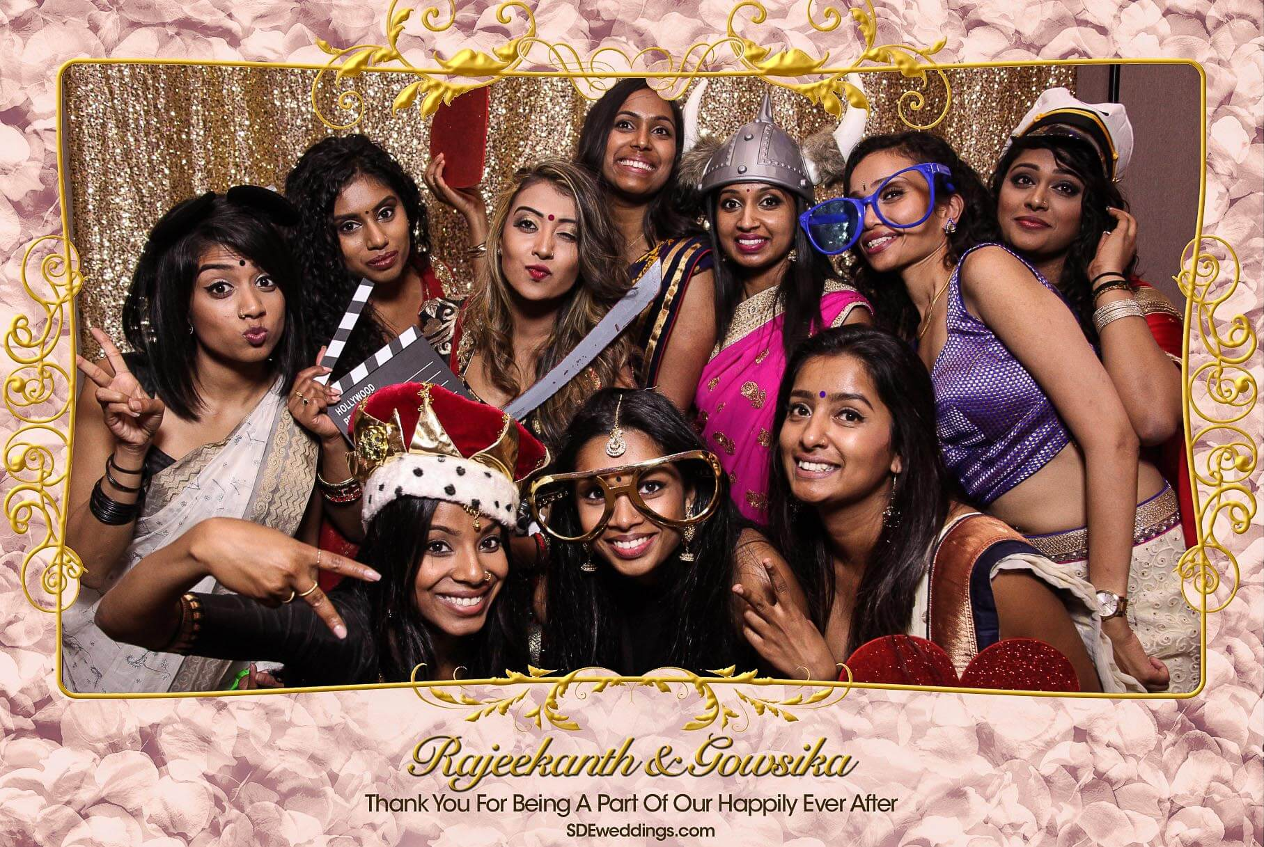 Toronto Tamil Wedding Photo Booth Rental at Chandni Banquet Hall 10