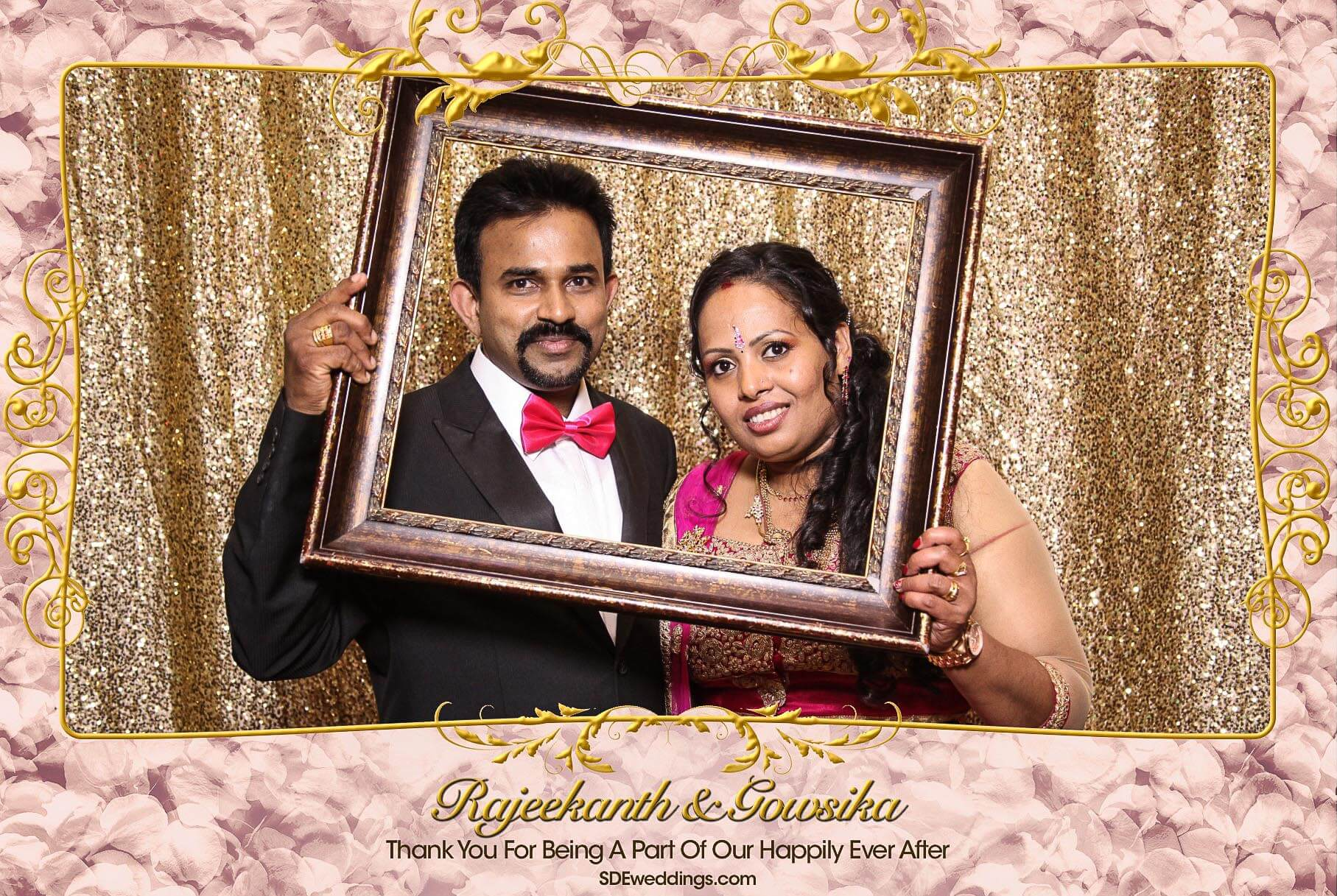Toronto Tamil Wedding Photo Booth Rental at Chandni Banquet Hall 2