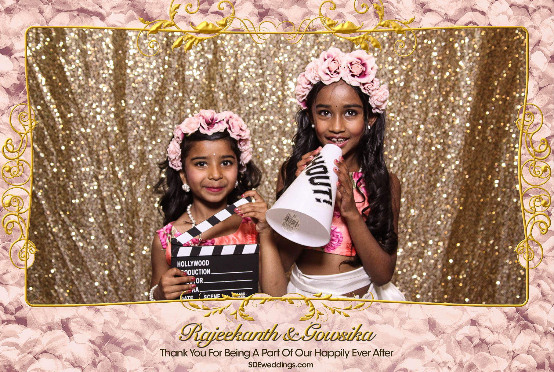 Toronto Tamil Wedding Photo Booth Rental at Chandni Banquet Hall 3