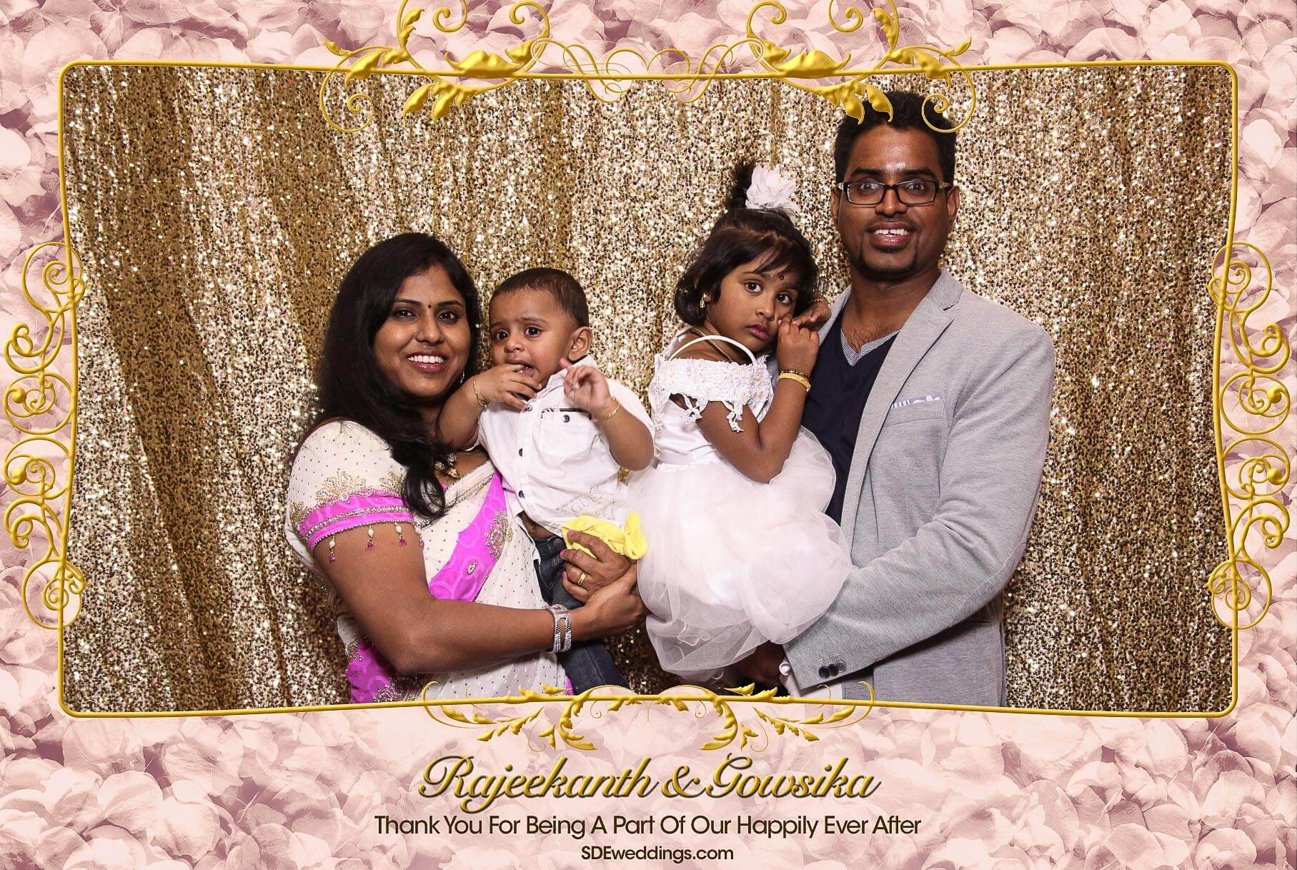Toronto Tamil Wedding Photo Booth Rental at Chandni Banquet Hall 4