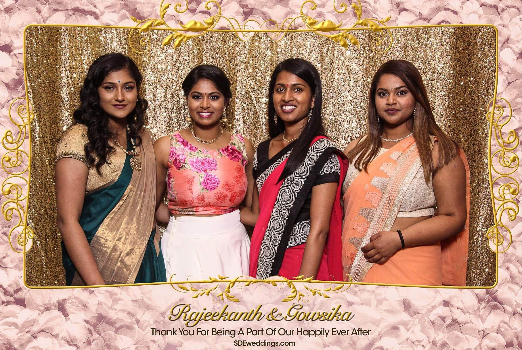 Toronto Tamil Wedding Photo Booth Rental at Chandni Banquet Hall 5