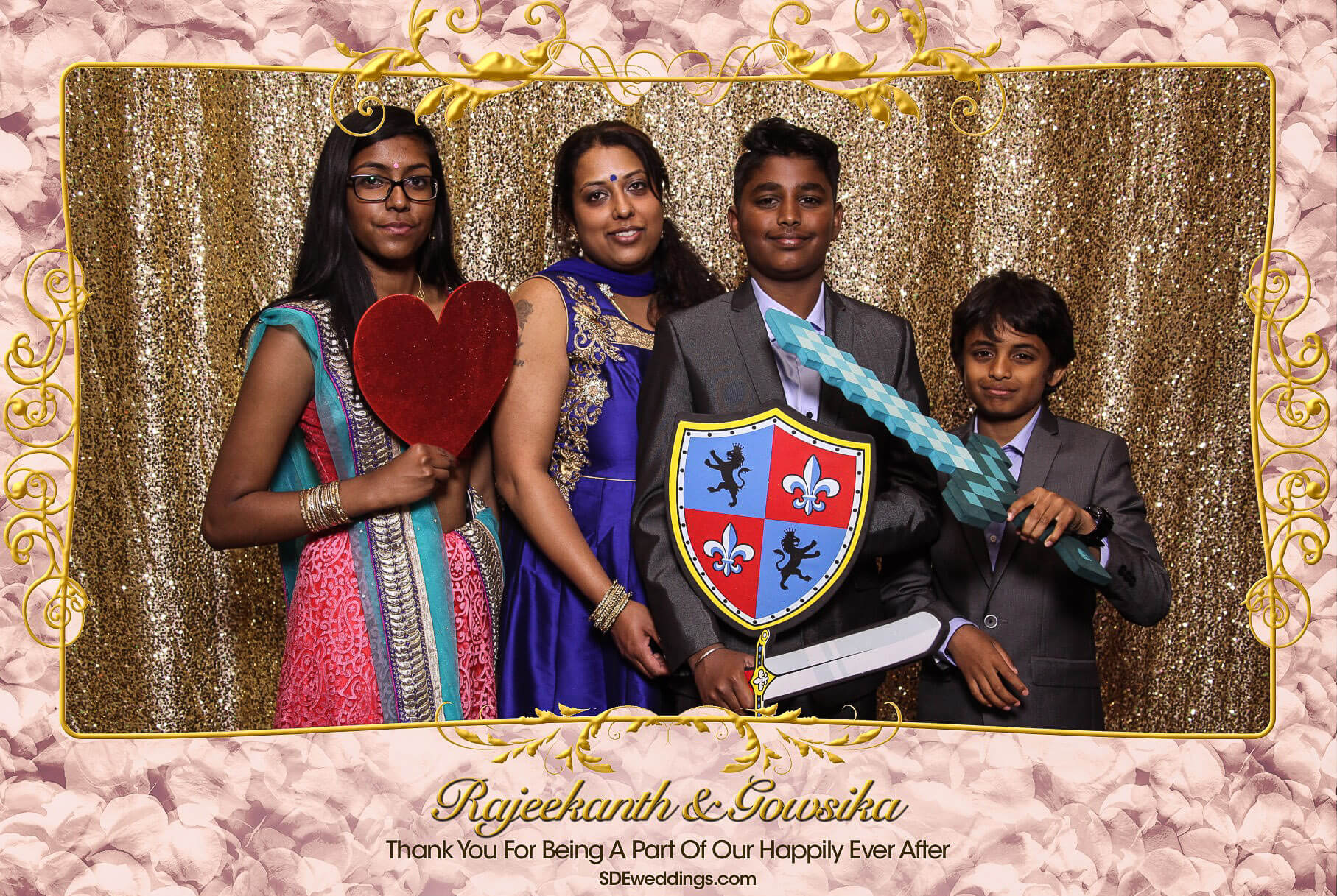 Toronto Tamil Wedding Photo Booth Rental at Chandni Banquet Hall 6