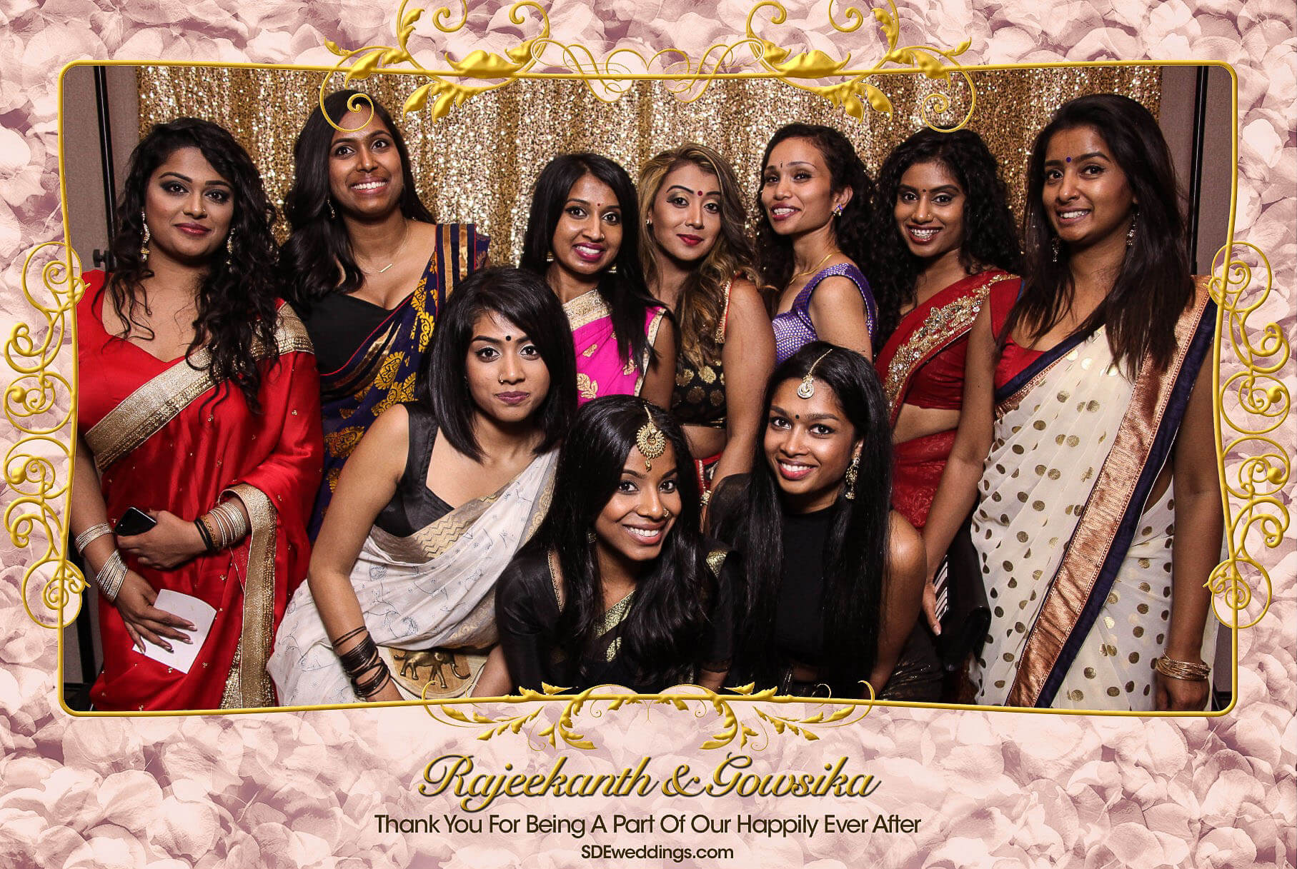 Toronto Tamil Wedding Photo Booth Rental at Chandni Banquet Hall 8