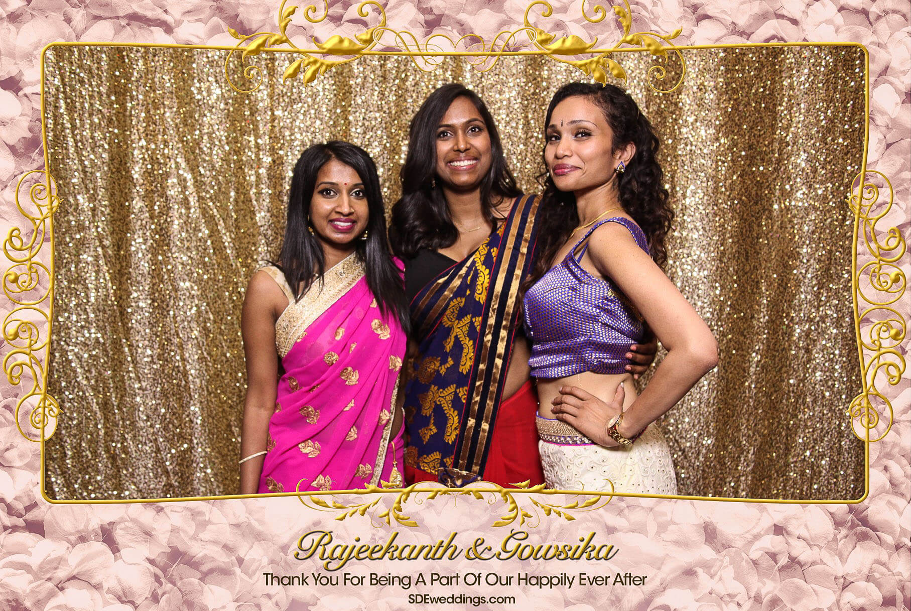 Toronto Tamil Wedding Photo Booth Rental at Chandni Banquet Hall 9