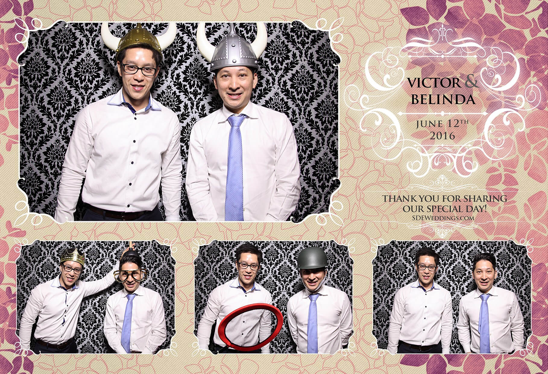 Toronto Thompson Hotel Wedding Photo Booth Rental 1