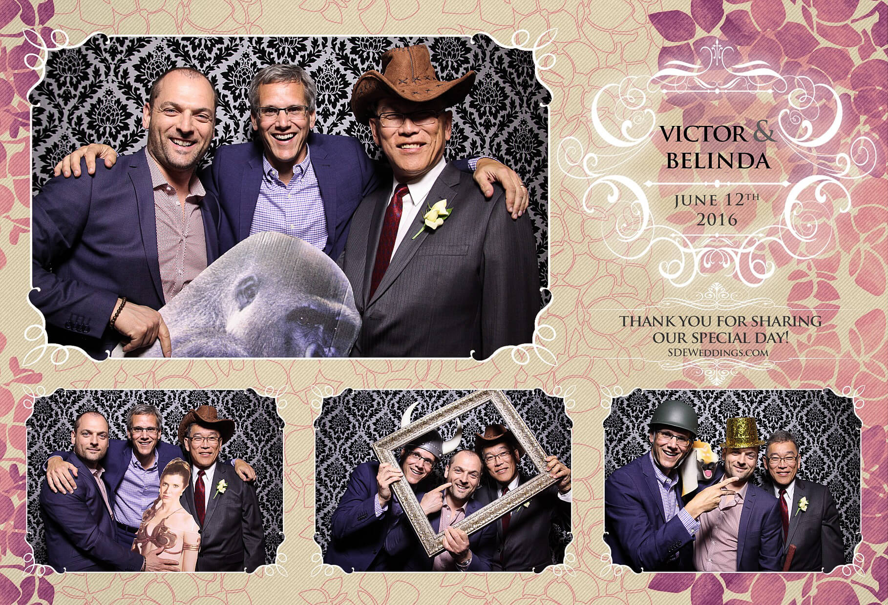 Toronto Thompson Hotel Wedding Photo Booth Rental 2