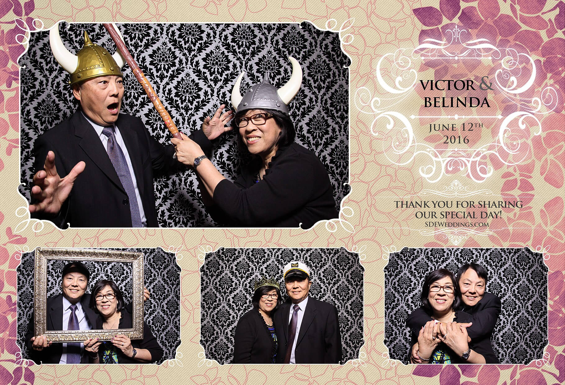 Toronto Thompson Hotel Wedding Photo Booth Rental 3