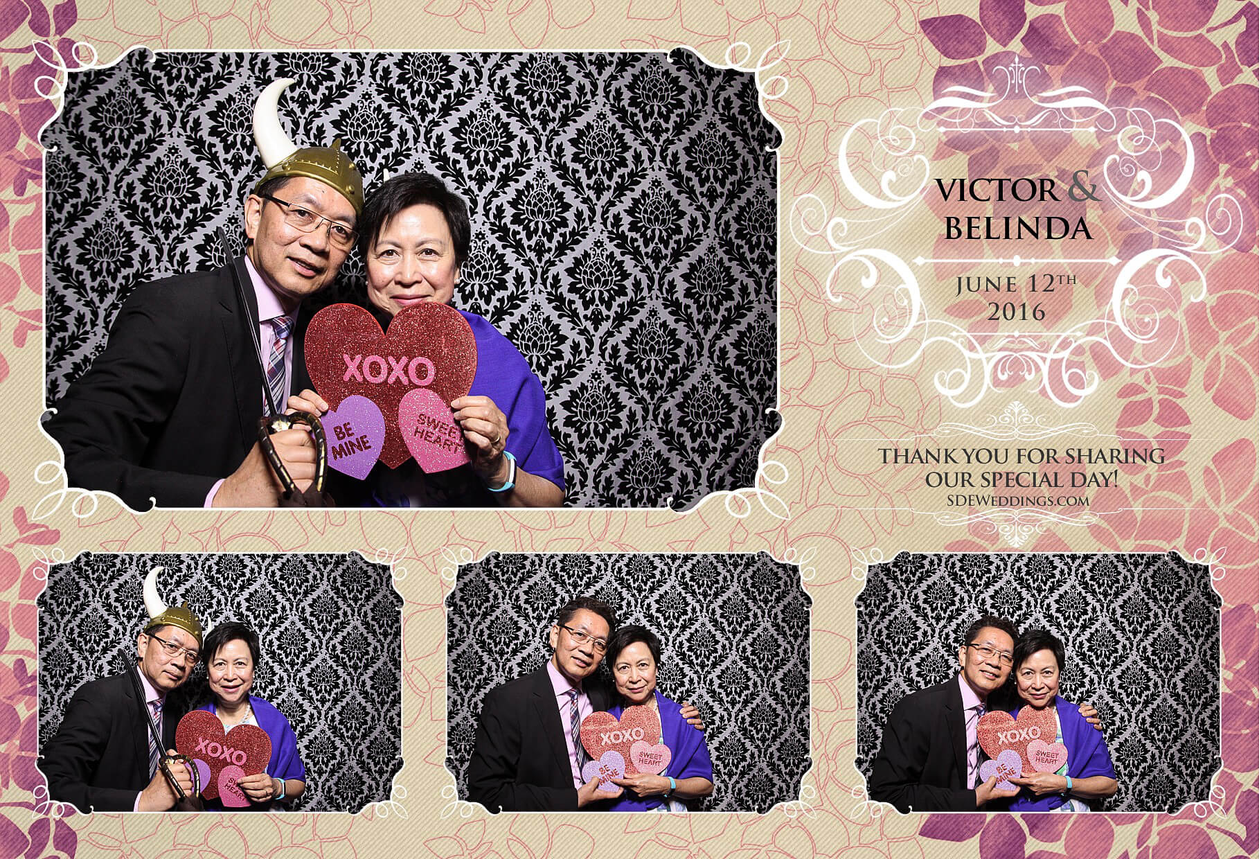 Toronto Thompson Hotel Wedding Photo Booth Rental 4