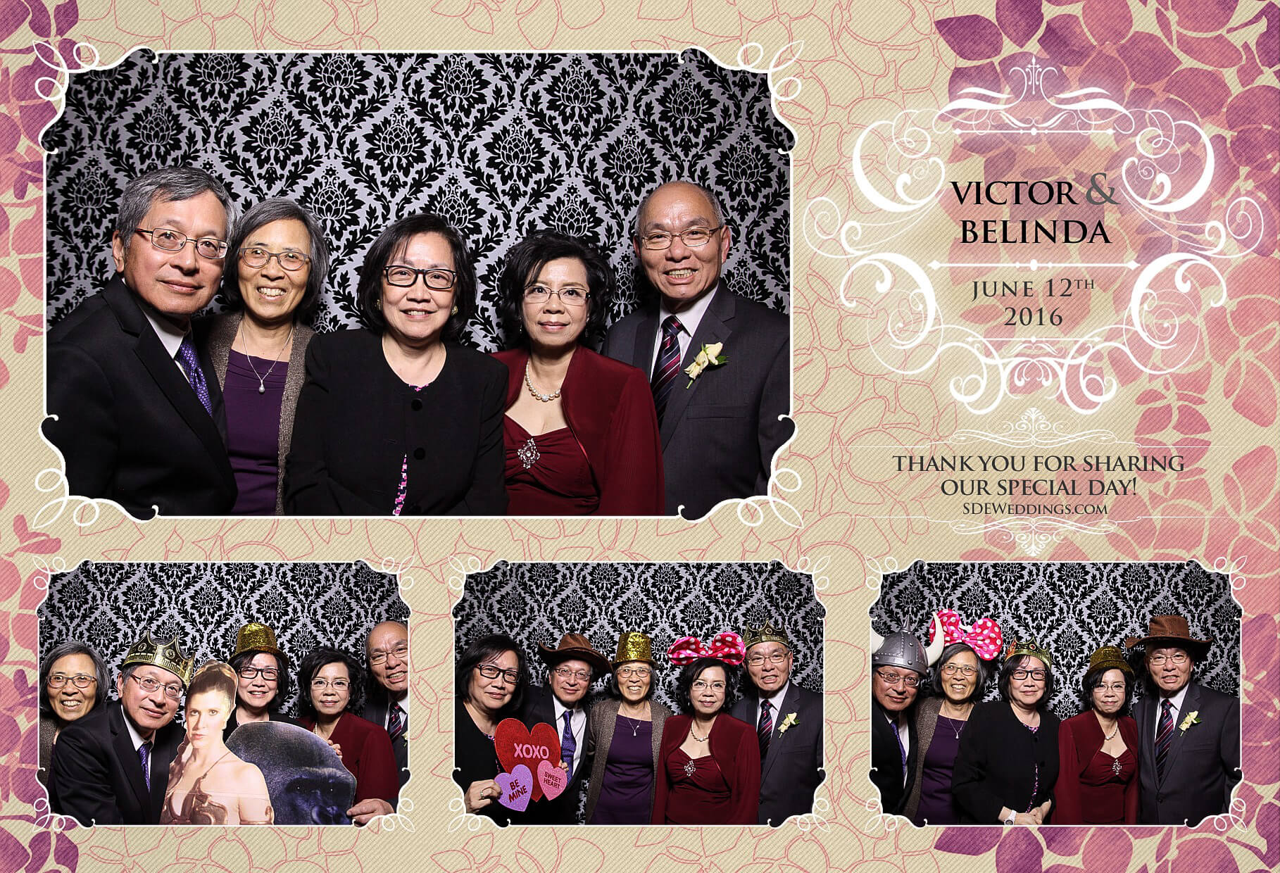 Toronto Thompson Hotel Wedding Photo Booth Rental 5