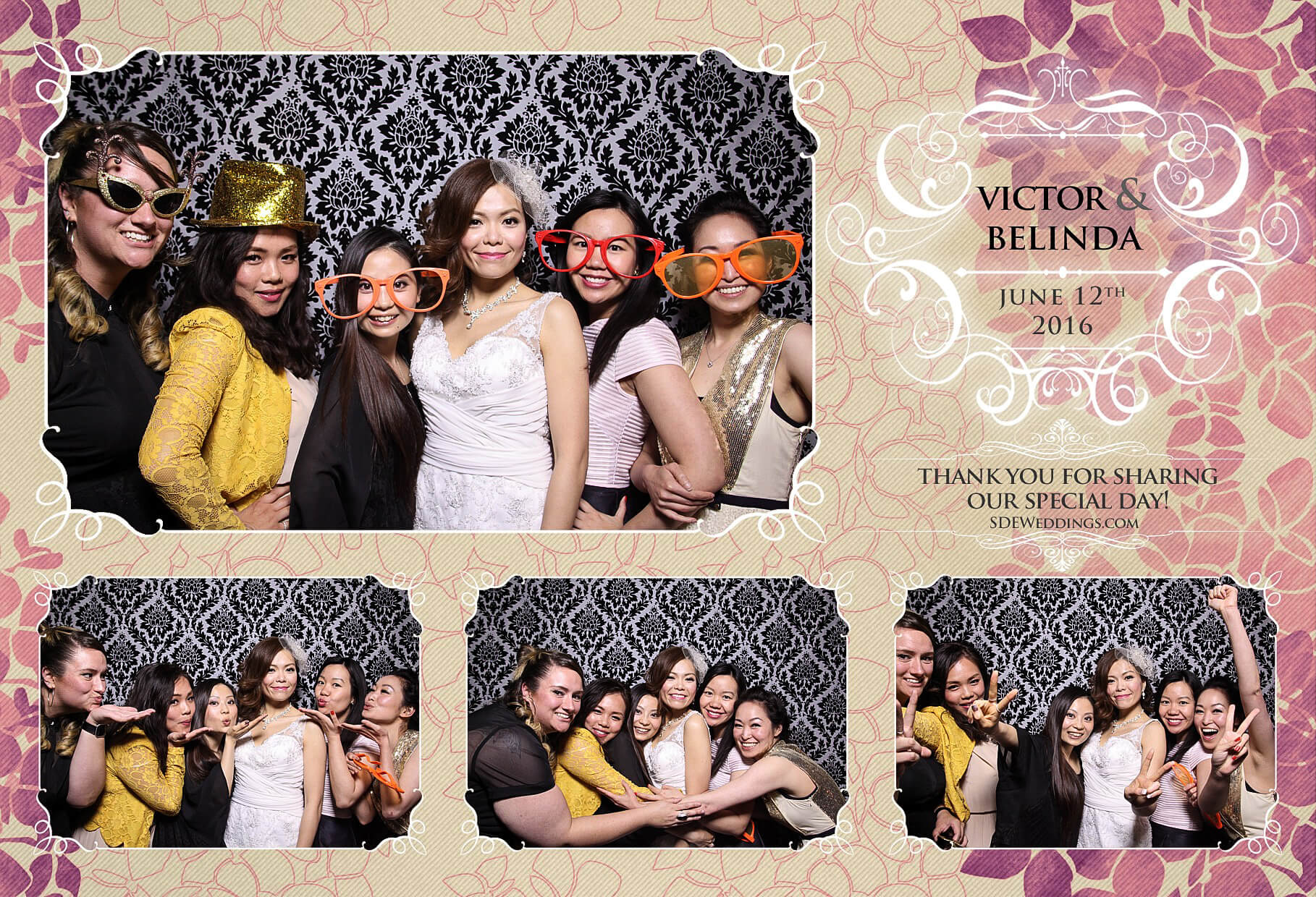 Toronto Thompson Hotel Wedding Photo Booth Rental 8