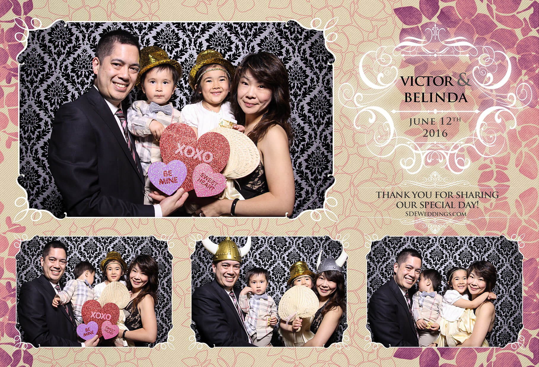 Toronto Thompson Hotel Wedding Photo Booth Rental 9