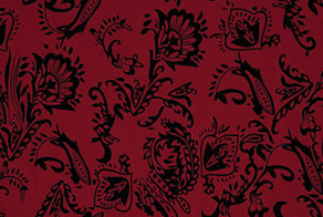 backdrop options red ornate