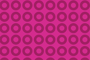 toronto photo booth backdrop options Pink Foxy Circle Pattern
