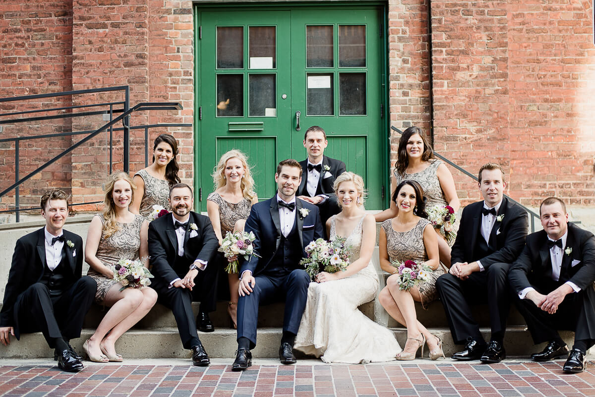 allison dan toronto fermenting cellar downtown distillery wedding photo 7