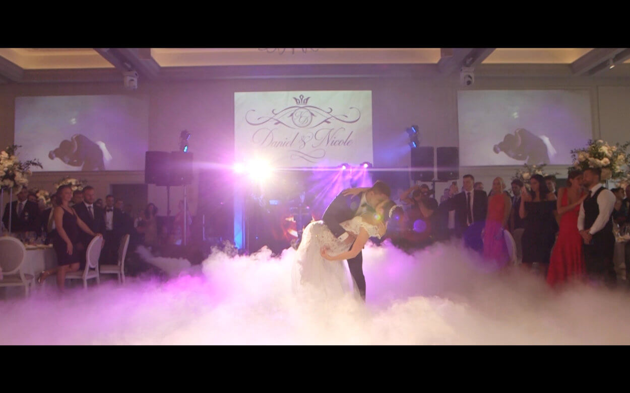 Toronto Jewish Same Day Edit Wedding Video at Arlington Estate